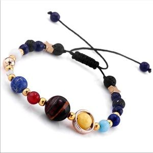 Natural Stone Galaxy Solar Bracelet You're The Sun